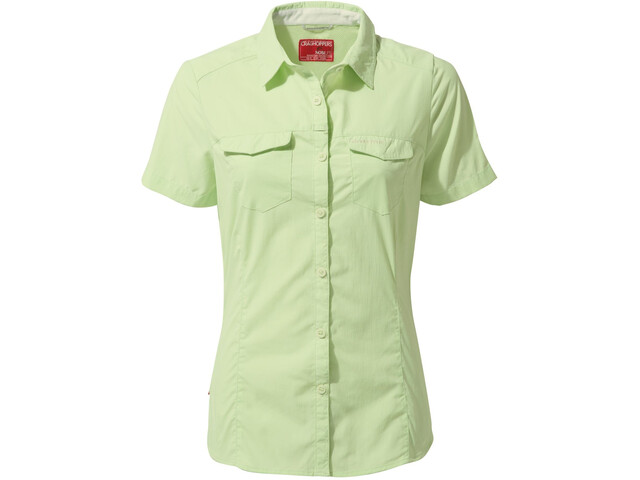 Craghoppers NosiLife Adventure II Shortsleeved Shirt Damen soft pistachio